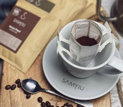 Das patente Bio-Filter für eine Tasse Biokaffee