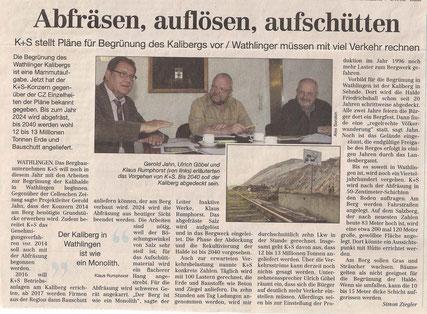 Quelle: Cellesche Zeitung, 17.04.2014