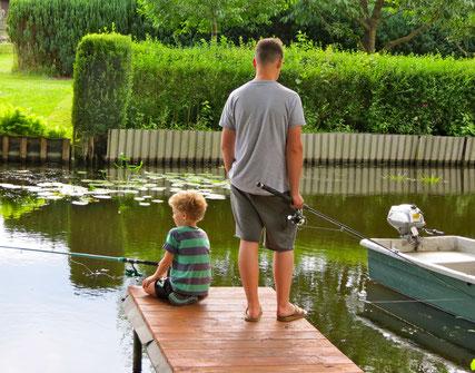 Kinder angeln MV Ferien Mecklenburger Seenplatte