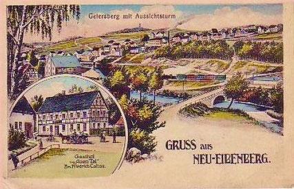 Gasthof Auen Tal um 1920