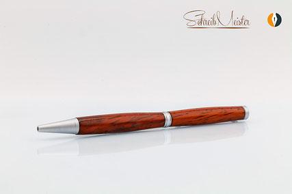 Hier sind edle Kugelschreiber aus Holz