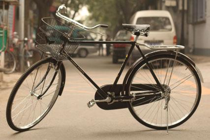 Vélo vintage chinois de la marque Flying Pigeon