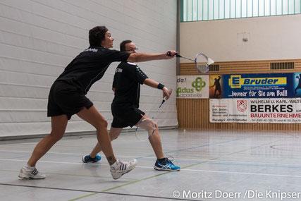 Iris Kneip und Rüdiger Zehe im Doppel