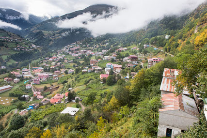 The village of Hamliköy in the North of Turkey