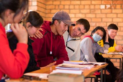 English course in Bokonbaevo in Kyrgyzstan