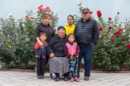 Nazira and her family