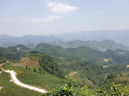 Blick über den Ha Giang Loop
