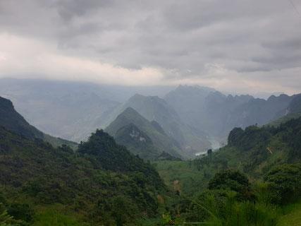 Weg zum Ma Pie Leng Pass