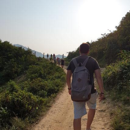 Grenze von Vietnam nach China nähe des Ha Giang Loops