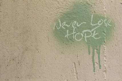 Message of hope.