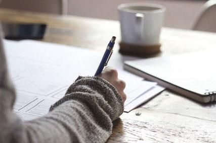 Writing.