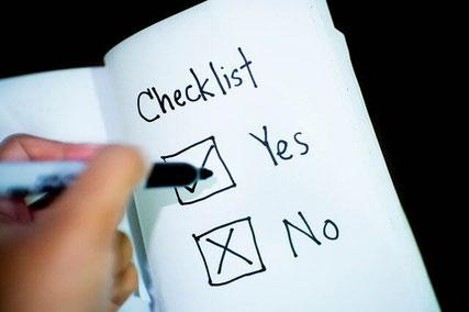 ROCD checklist.