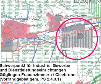 Aus der Stellungnahme des Referat 55, RP Stuttgart. Die dynamischen Erschließungszonen im Zabertal sind mit dem Prädikat Naturpark vereinbar.