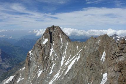 Schreckhornhütte, Schreckhorn, Lauteraarhorn, Traverse, Überschreitung, Lauteraargrat, Schraubengang
