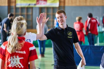 Trainer und Athlet - gemeinsam zum Erfolg - Foto: Ch. Körner
