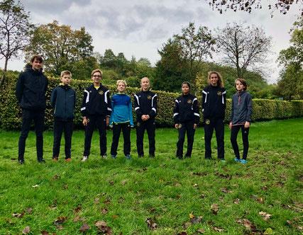 LAC-Juniorteam mit Trainer Jonas Rosenlicht - Foto: privat