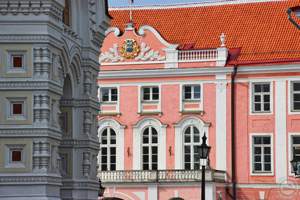 Das Parlamentsgebäude in Tallinn