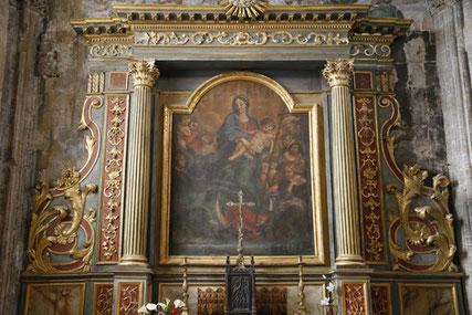 Mausolée de saint Bertrand, à la cathédrale de Saint-Bertrand-de-Comminges, haut lieu touristique des pyrénées centrales