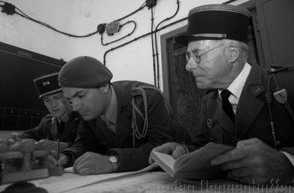 2 Lieutenants et le capitaine (associations Huberbush et Fort Casso