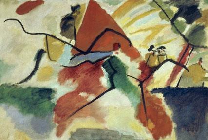 Impression V de 1911 de Vassily Kandinsky.