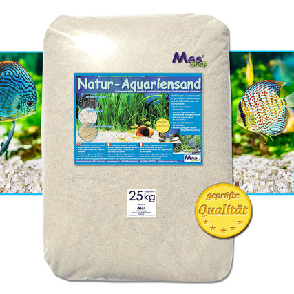 Mess Shop Natur-Aquariensand