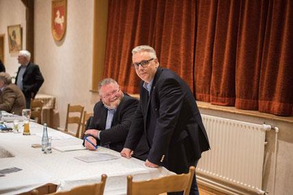 Samtgemeindeverbandsvorsitzender Jörg Ahlfeld