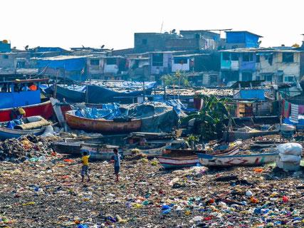 Mumbai plastic pollution children