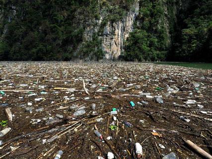 plastic pollution Mexico