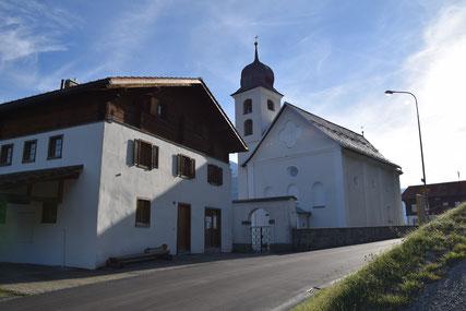 Pfarrkirche Dardin Capre Pfarrei Brigels