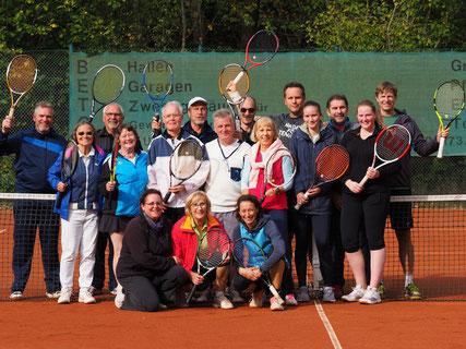 Tennis Saisonabschluss Spaßturnier Oktober 2019 in Edemissen Abbensen Peine