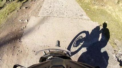 Betoniert: die steilsten Stellen des Polentin