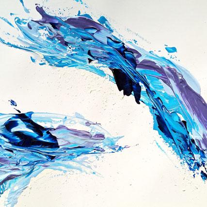 Moderne Kunst Geburtstagskarten von UH-ART Design für Firmen und Privatkunden