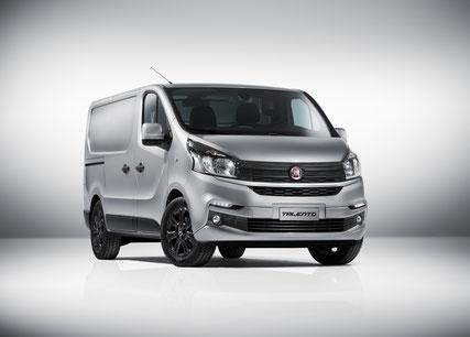 Klares und stilvolles Design - Der neue Fiat Talento vom Strasser Transport und Business Center in Rosenheim