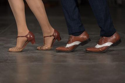 Schuhe Lindy Hop Swing Tanzen