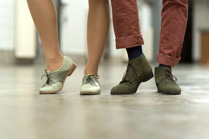 Schuhe zum Lindy Hop Tanzen in Heilbronn