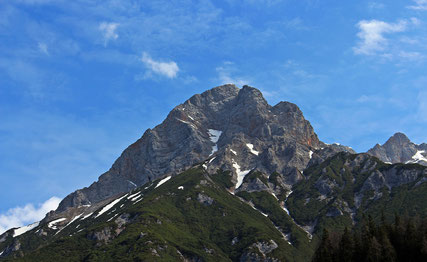Meditation Berg Stabilität