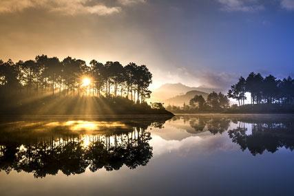 Meditation heilsame Wirkung Stille
