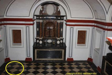 Cripta del antiguo monasterio de los jerónimos de San Miguel de los Reyes. València (Comunidad Valenciana).