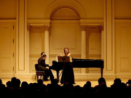 Carnegie Hall Octubre 2012