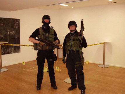 Agentenrallye , SEK am Tatort Heidelberg