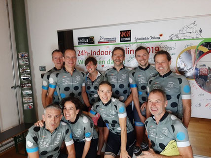 Beim Indoorcycling 2019
