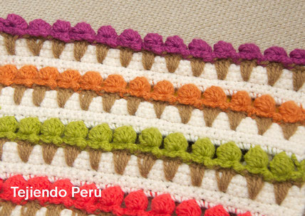 Punto helados o crochet ice cream stitch