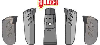 Kombination aus ULTRA MONO PROTECT (EXTREME) V-LOCK (L/R) und SUPER MONO EXTREME (L/R)