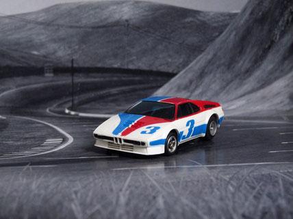 Faller AMS AURORA AFX BMW M1 weiß/blau/rot #3