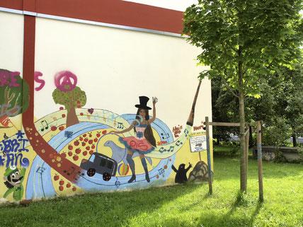 Graffiti Wilhelmsburger Ufer