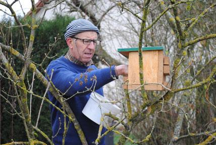 La ligue de protection des oiseaux Meuse et son responsable : Dominique Landragin