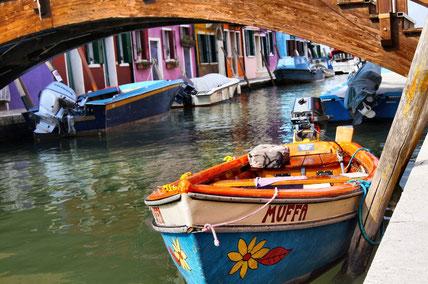 Parkplatz der Fischerboote