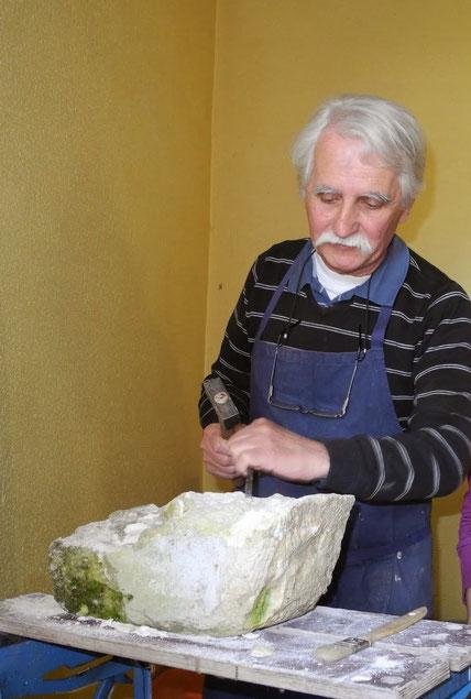 Georges Bastié - Le sculpteur qui vous guidera dans vos essais !