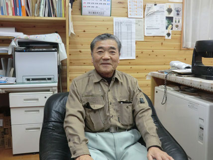 有限会社ドリファー花泉 代表取締役 阿部信夫さん