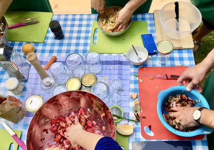 Outdoor-cooking: Die Kunst des Fermentierens, München im Juli '18